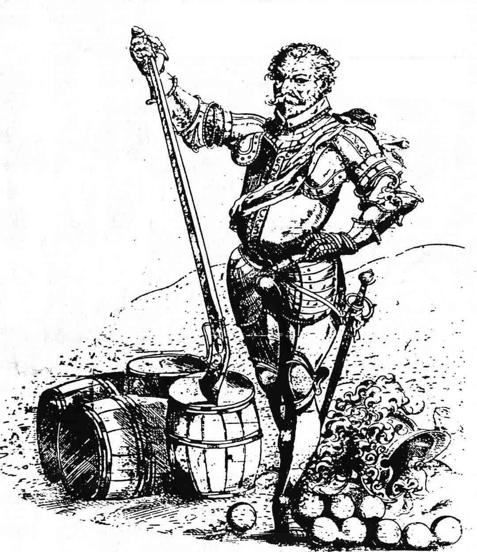 Ritter ohne schrift